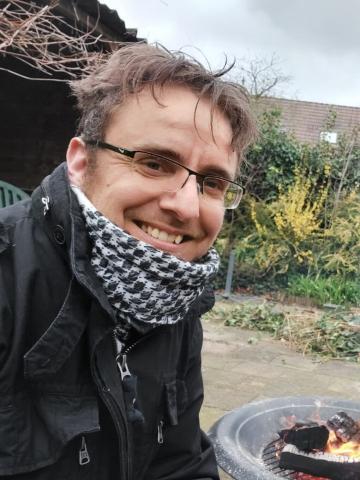 Jochem Verdonk van Stichting Transman