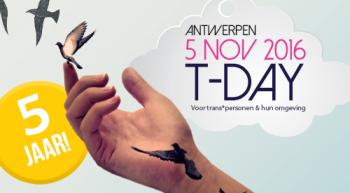 """Workshop """"Trots op wie je bent"""" tijdens T-Day in Antwerpen"""